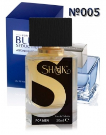 SHAIK №005 аналогичный ANTONIO BANDERAS Blue Seduction Men