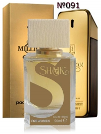 SHAIK №091 аналогичный PACO RABANNE 1 Million Men