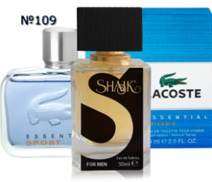 SHAIK №109 аналогичный LACOSTE Essential Sport Men
