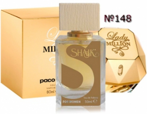 SHAIK №148 аналогичный PACO RABANNE Lady Million Women