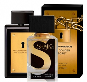 SHAIK №007 аналогичный ANTONIO BANDERAS The Golden Secret Men