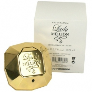 Тестер Paco Rabanne Lady Million Monopoly Collector Edition 80 ml