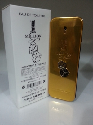 Тестер Paco Rabanne 1 Million Monopoly Collector Edition100 ml
